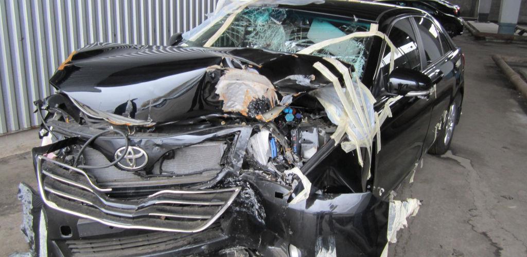 Тотальная гибель автомобиля